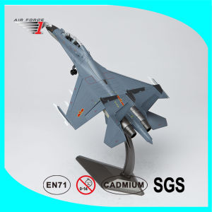 Su-30 Airplane Model with Die-Cast Alloy