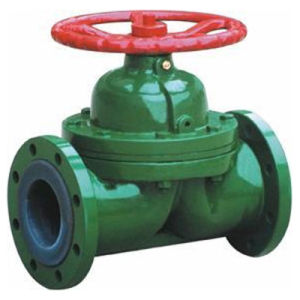 Manual Operation Diaphragm Valve with FEP Linning