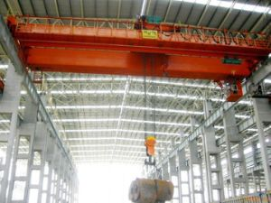 Double Girder Overhead Bridge Traveling Cranes pictures & photos