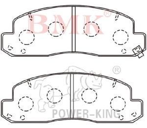 Hot Sales Brake Pad (D2148) for Toyota pictures & photos