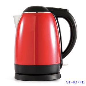 1.7L Double Wall Electric Kettle With Shining Color (ST-K17FD)