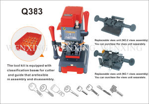 Universal Key Cutting Machinem Q383 pictures & photos
