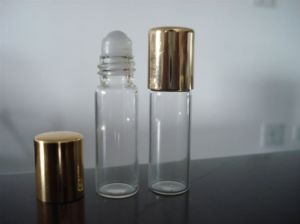 Glass Vase for Cosmetic Packaging