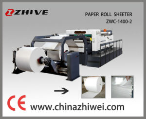 Servo Control Paper Sheeting Machine