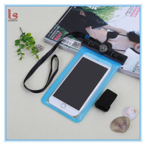 High Quality Armband Waterproof Mobile Pouch with Compass pictures & photos