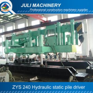 Zys 240 Hydraulic Static Pile Driver, 240ton Pile Driver, 240 Hydraulic Pile Press Machine