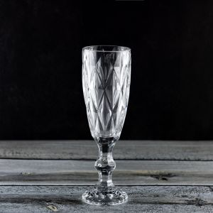 160ml 6oz Custom Large Crystal Wine Glass Goblet with Engraving Pattern (P19562)