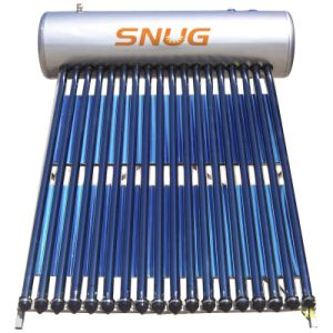 Heat Pipe Pressurized Solar Water Heater, 7 Years Guarantee/CE pictures & photos