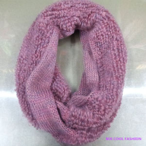 New Ladies Winter Fashion Acrylic Knitted Scarf