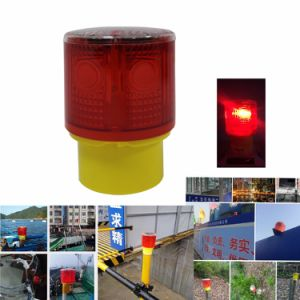Waterproof Solar Powered Construction Pier Jetty Quay Safety Flashing  Strobe Beacon Light