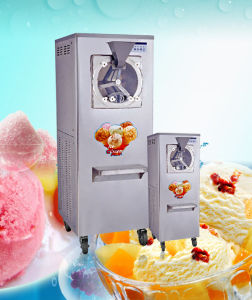 Hard Ice Cream Machine Gelato Ice Cream and Sorbet