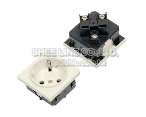 Outlet Socket (SLF-670(44)) pictures & photos