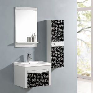 MDF Bathroom Cabinet with Basin and Mirror pictures & photos