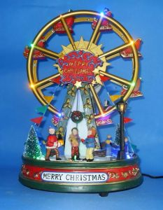 christmas decorferris wheels k810004 - Christmas Ferris Wheel Decoration