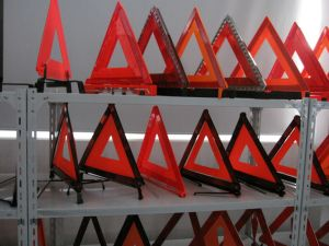 Road Traffic Car Reflective Warning Triangle with E-MARK Certificate