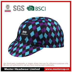 Sublimation Printing Cycling Cap for Bike