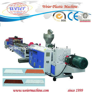 PVC Window and Door Plastic Profile Extruder Machinery pictures & photos