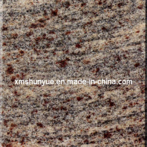 Cheap Design Juparana Columbo Granite Slab for Paving, Tombstone