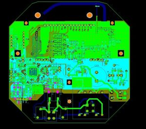 Turkey PCB Assembly PCB-207, Double-Sided PCB