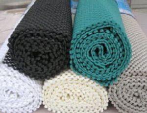 China non slip pvc matting yoga gym room mat grip mat drawer liner