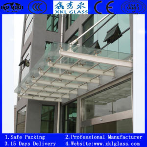 8mm/10mm/12mm Glass Door with Polished Edges and Handle Holes