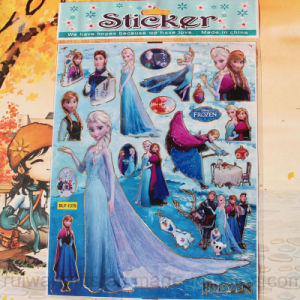 Foil Stamped Cartoon Frozen Stickers pictures & photos