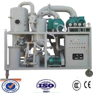 Zanyo Dielectric Oil Purifier Machine for Solid-Liquid-Gas Separation