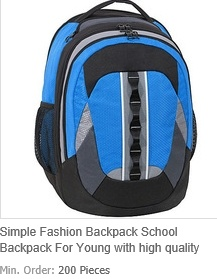 Simple Fashion Backpack School Backpack