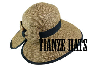Foldable Paper Braid Straw Hat pictures & photos