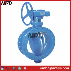 Carbon Steel Flanged Triple Eccentric Butterfly Valve pictures & photos