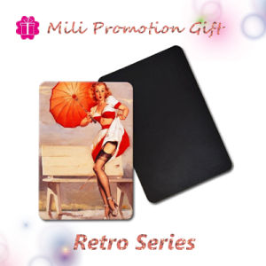 Retro Series Hot Girls Photo Design Special Order Factory Made Fridge Magnet pictures & photos