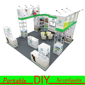 Custom Designed Sustainable Portable Modular Hybrid Inline Island Corner Exhibits pictures & photos