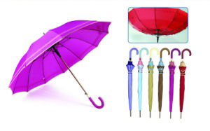 Screen Edged Print Windproof Umbrella (YS-SA25143932R)