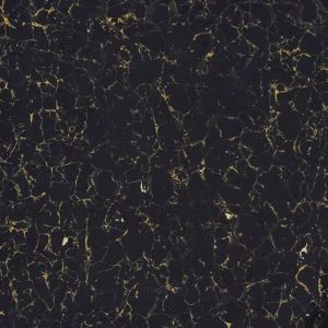 Black Color Ti Polished Porcelain Tile For Floor Or Wall