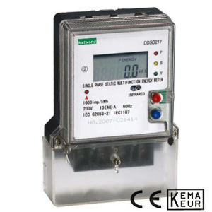 Single Phase Static Multifunction Energy Meter pictures & photos