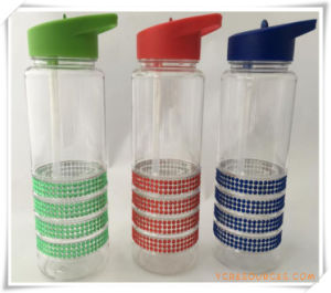 Straw Cup Straw Bottle for Promotional Gifts (HA09036) pictures & photos