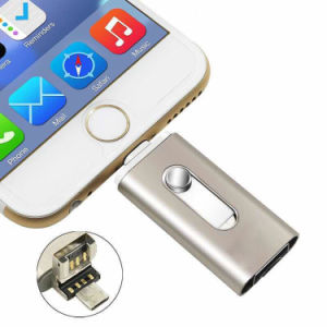 USB 2.0 OTG Flash Drive 3 in 1 for iPhone and Android pictures & photos