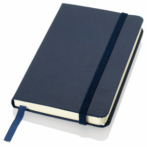Promotional Notebook/Calendar Notebook with Elastic Rope pictures & photos