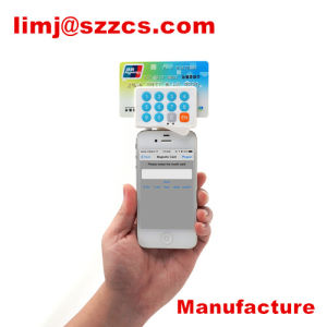 Zcs Imixpay-Pinpad Credit Card Reader for Mobile Devices USB/ 3.5mm Audio Jack/Bluetooth