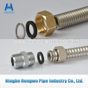 SUS304 Stainless Steel Corrugated Flexible Metal Pipe