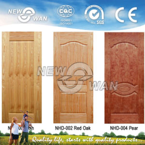 High Quality HDF Natural Ash Veneer Skin Door (NTE-HD5001) pictures & photos