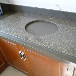 Precut Countertop/One Piece Bathroom Stone Sink Countertop