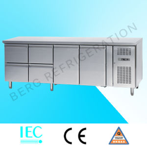 Stainless Steel Under Counter Refrigerator with Drawers pictures & photos