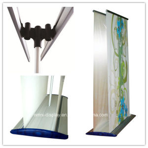 Double Side Roll up Banner Stand (DW-R-S-30) pictures & photos