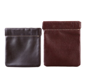 Promotional Cheap Mini Leather Coin Purse pictures & photos