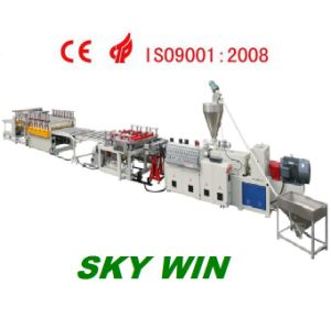 WPC (PVC+Wood) Flooring Base Material Extrusion Production Line