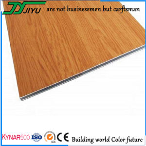 Wood Grain PVDF Aluminum Composite Panel for Decoration Material