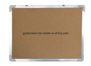 Shunwen Hot Sell Soft Felt Pin Board Cork Board with Aluminum Frame CE, ISO, SGS Certificate
