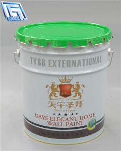 White Oil Metal Container for Oil/Paint/Coating