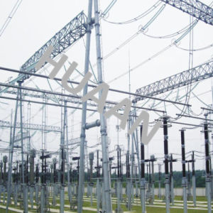 Self-Supporting Steel Iron Architecture for Substation